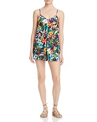 Show Me Your Mumu Rascal Tropical Print Romper Tropical Lovefest