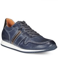 Kenneth Cole New York Men's Scroll Down Sneakers Men's Shoes Navy