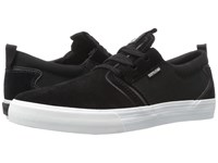 Supra Flow Black Suede White Men's Skate Shoes