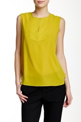 J.Crew Factory Draped Keyhole Tank Green