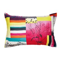Clarissa Hulse Watercolour Patchwork Oxford Pillowcase