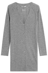 81 Hours By Dear Cashmere Long Cardigan Grey