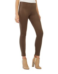 Bcbgmaxazria Mason Faux Suede Legging Dark Fatigue