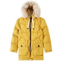 Coach Toy Soldier Down Parka Yellow