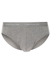 Tom Tailor Basic Briefs Dark Grey Melange Mottled Grey