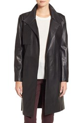 Lamarque Women's Lambskin Leather Trench Coat
