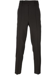 Neil Barrett Skinny Fit Trousers Brown