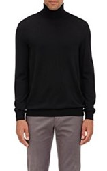 Zanone Flexwool Turtleneck Sweater Black