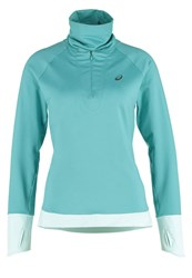 Asics Thermopolis Long Sleeved Top Kingfisher Green