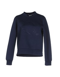 Wood Wood Woodwood Topwear Sweatshirts Women Dark Blue
