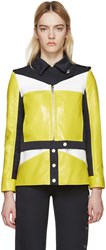 Courreges Tricolor Patent And Twill Jacket