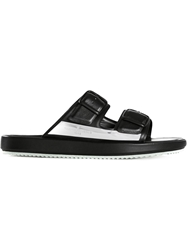 Golden Goose Deluxe Brand Double Buckle Sandals Black