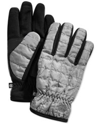 Timberland Quilted Touchscreen Gloves Charcoal