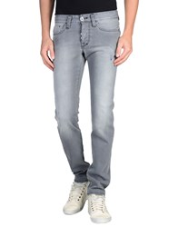 Shaft Denim Denim Trousers Men Lead