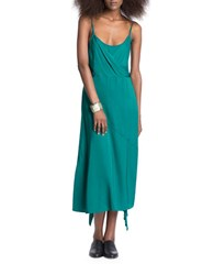 Tracy Reese Wrapped Tank Dress Green