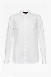 Great Plains Classic Stretch Cotton Shirt Winter White