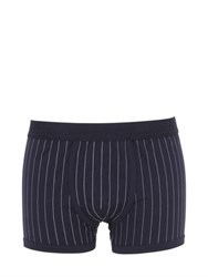 Dolce And Gabbana Pinstriped Stretch Jersey Boxer Briefs