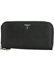 Serapian All Around Zip Wallet Black