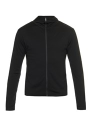 Mover Long Sleeved Merino Wool Jersey Hooded Sweatshirt