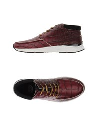 Gourmet Footwear High Tops And Trainers Men Deep Purple