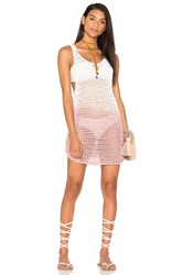 Cleobella Mason Short Dress Pink