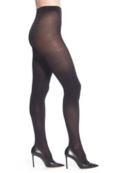 Halogenr Plus Size Women's Halogen Opaque Control Top Tights Black