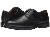 Nunn Bush Ryan Wing Tip Oxford Black Men's Lace Up Wing Tip Shoes