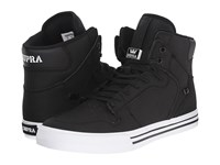 Supra Vaider Black White Skate Shoes
