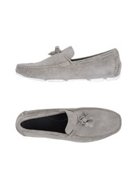 Bruno Magli Footwear Moccasins Men Grey