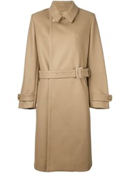Joseph Belted Coat Nude And Neutrals