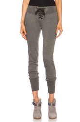 Nsf Maddox Poly Blend Sweatpant In Gray