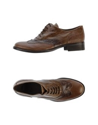 Maliparmi Lace Up Shoes Brown