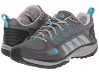The North Face Litewave Explore Wp Q Silver Grey Bluebird Women's Shoes Gray