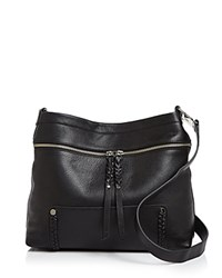 Ivanka Trump Charlotte Pebble Bucket Bag Black
