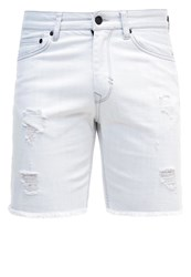 Brooklyn's Own By Rocawear Denim Shorts Bleached Denim