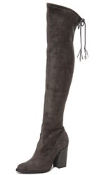 Dolce Vita Chance Over The Knee Boots Anthracite