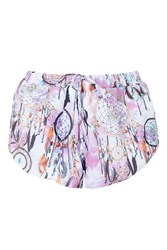 Dreamcatcher Shorts By Jaded London Multi
