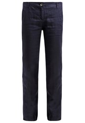 S.Oliver Trousers Navy Dark Blue