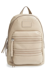 Marc By Marc Jacobs 'Domo Biker' Leather Backpack Cement