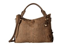 Jessica Simpson Mara Crossbody Tote Henna Snake Satchel Handbags Brown