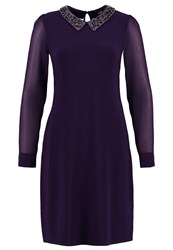 Wallis Summer Dress Violett Dark Purple