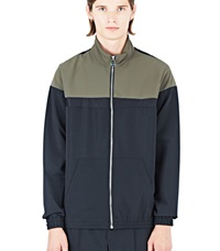 Emiliano Rinaldi High Tech Training Jacket Khaki