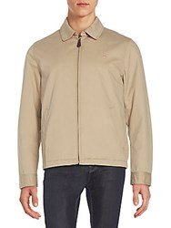 Gant Regular Fit Cotton Golf Jacket Beige