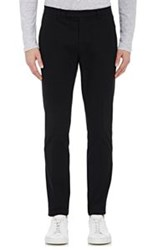 Atm Anthony Thomas Melillo Tuxedo Striped Trousers Black