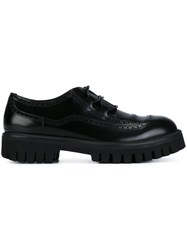 Dolce And Gabbana 'Corregio' Lace Up Shoes Black