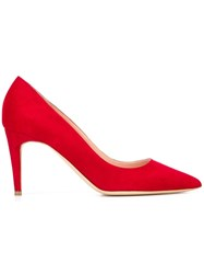Rupert Sanderson Mid Heel Pumps Red