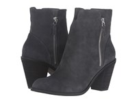 Softwalk Fairhill Dark Grey Cow Suede Leather Women's Boots Gray