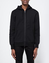 Reigning Champ Full Zip Hoodie In Black