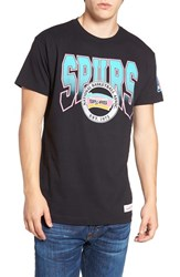 Mitchell And Ness Men's Spurs Graphic T Shirt