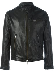 Dondup Zipped Jacket Black